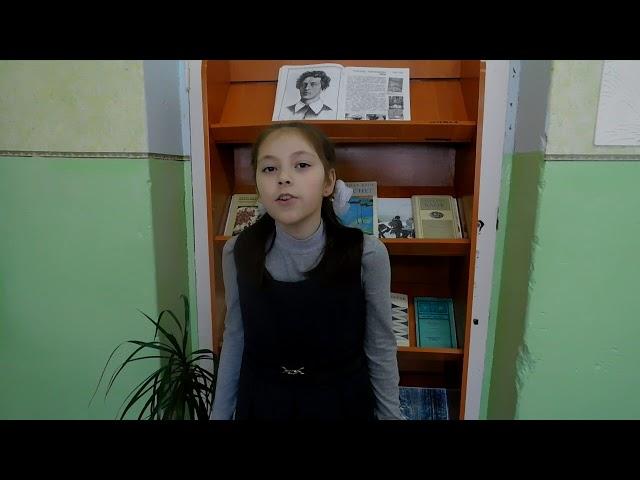 Изображение предпросмотра прочтения – ЯнаАюпова читает произведение «Ветхая избушка» А.А.Блока