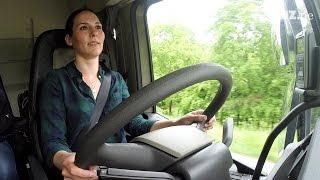 40 Tonnen schwer und 13 Meter lang: Eine LKW-Fahrstunde im Selbstversuch