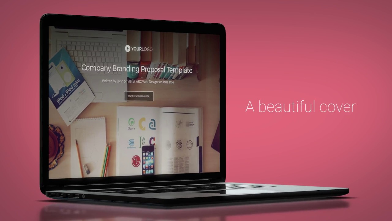 free brand design proposal template
