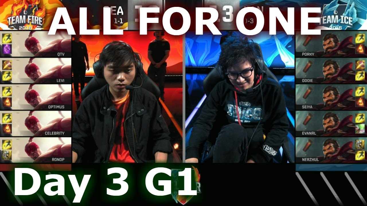 30f5e19aa1ab SEA (Lee Sin) vs LAN (Graves) One For All Mode