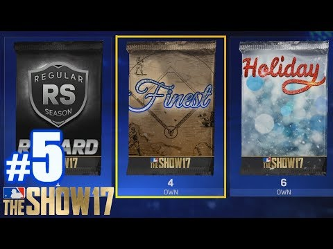 THE MOST EXPENSIVE PACKS I'VE EVER OPENED! | MLB The Show 17 | Packs #5