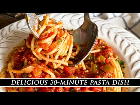 Pasta Sauce Will NEVER Be The Same | The BEST-EVER Pasta Recipe