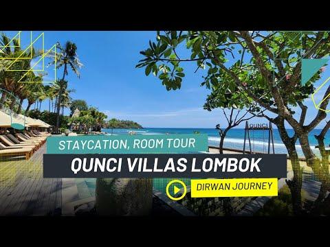 Qunci Villas Hotel Senggigi Lombok | Review And Room Tour