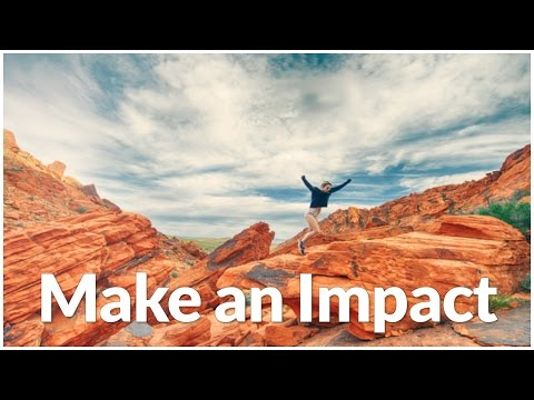 "August ""Make an Impact"" month"