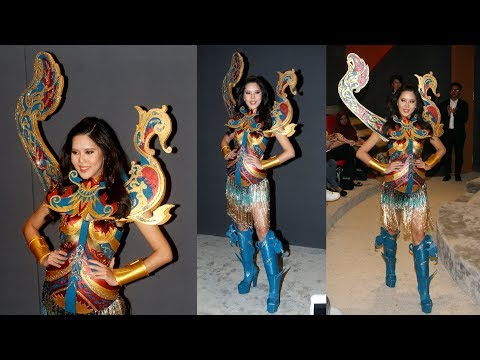 Miss Universe Malaysia's costume honours traditional fishing boats