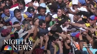 Crisis In Venezuela Continues To Grow As Maduro Refuses Outside Aid | NBC Nightly News