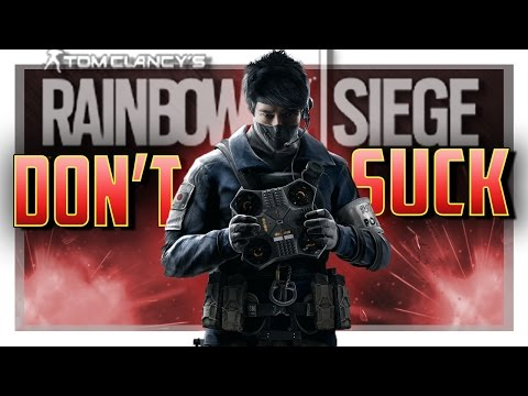 HOW TO NOT SUCK WITH Echo in Rainbow Six Siege!