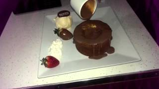 Delicious dessert lounge Coventry chocolate well dessert