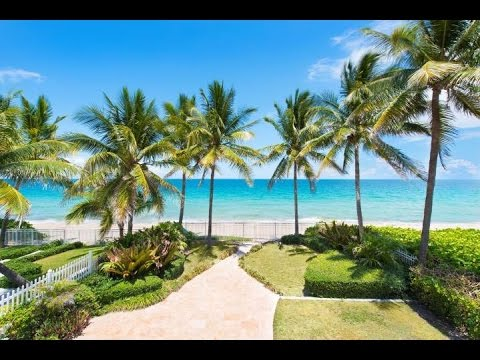 Direct Oceanfront Home in Fort Lauderdale, Florida