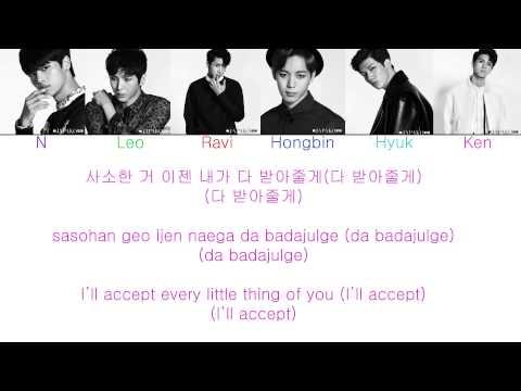 VIXX (빅스) - ETERNITY (기적) Han|Rom|Eng Lyrics