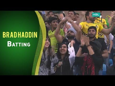 Match 22: Islamabad United vs Karachi Kings - Brad Haddin Batting