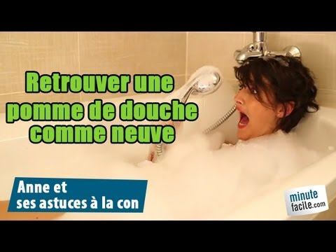 comment nettoyer un pommeau de douche youtube. Black Bedroom Furniture Sets. Home Design Ideas
