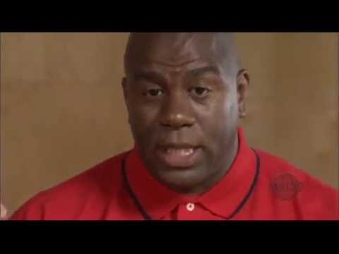 Magic Johnson - Fundamentals of Basketball(Advanced part 1) ft. Jabbar, Smith, Hamilton and McKnight