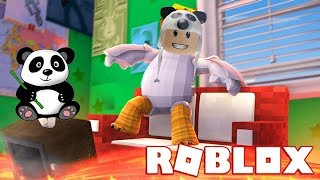 Get on the Awesome Helicopter and Run From Lava!! - Roblox Lava Survival Game with Super Panda!