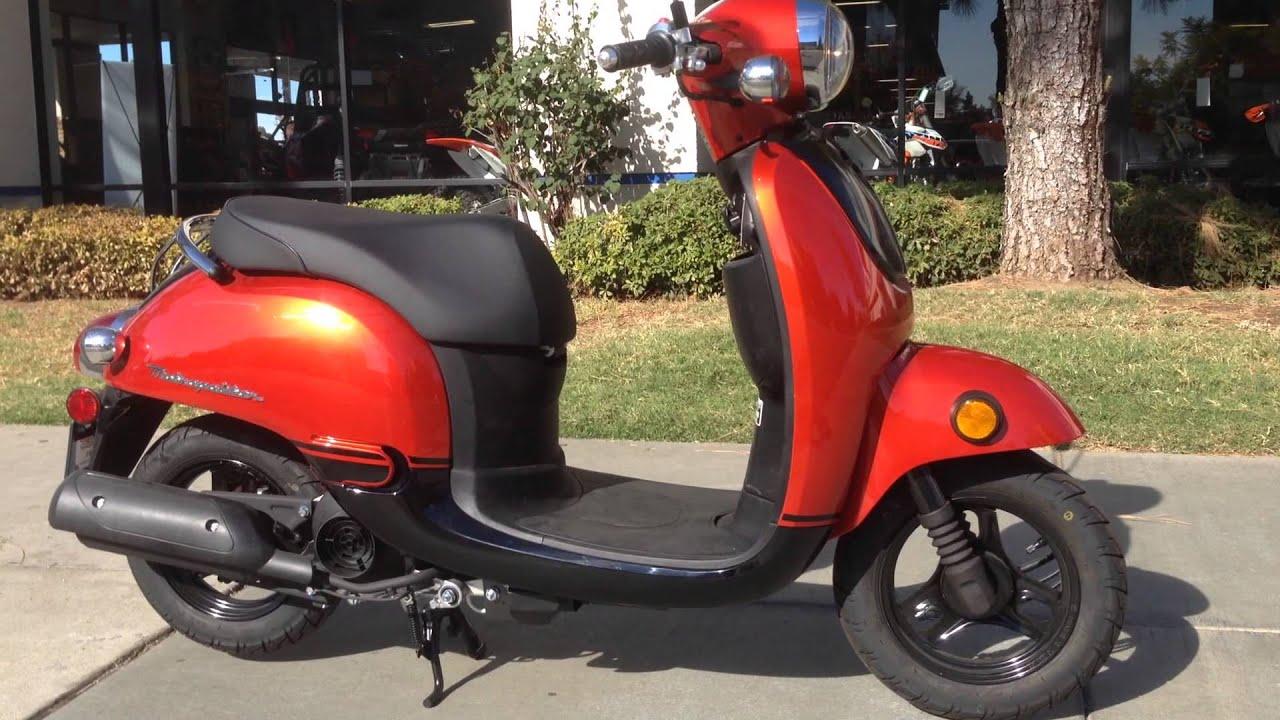 2014 Honda Metropolitan 50 Orange Black