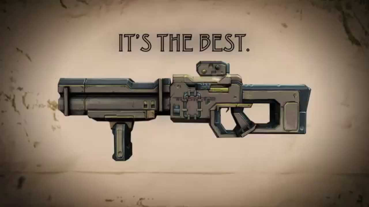 Real Weapon Sellers Will Be So Jealous of These Borderlands