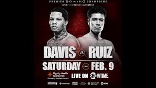 Final Thoughts On Gervonta Davis Vs Hugo Ruiz!!