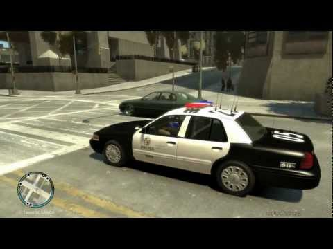 GTA IV - LAPD Patrol 4: Two Pursuits, One Beat