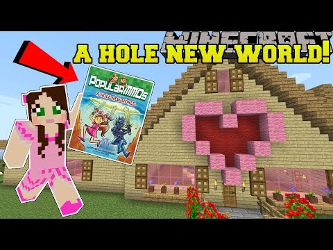 Minecraft: A HOLE NEW WORLD!!! - Custom Map [1]