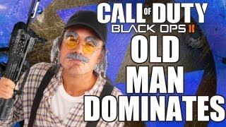 Black Ops 2 :: Old Man Dominates Children In Video Game