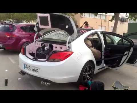 4 tuning show petrer opel insignia youtube. Black Bedroom Furniture Sets. Home Design Ideas