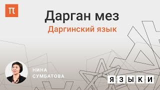 Даргинский язык — Нина Сумбатова