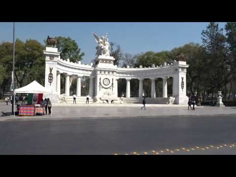 Walking in Mexico City