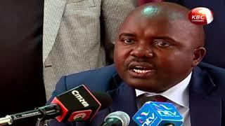 Kanduyi MP Wafula Wamunyinyi has petitioned the National Assembly S...