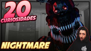 NIGHTMARE | 20 Datos y Curiosidades | Five Nights at Freddy´s | FNAF BERSGAMER REACCION