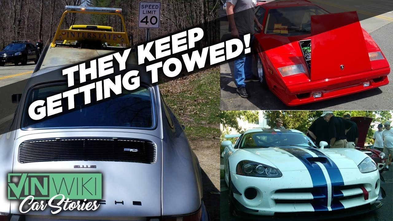The cops keep trying to tow my exotic cars - YouTube