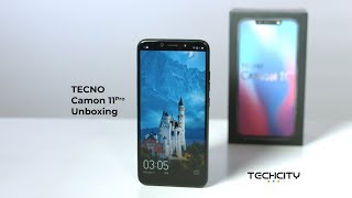 TECNO Camon 11 - Unboxing and First Impressions / TECNO Unboxing