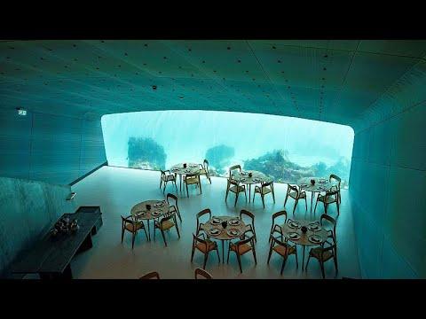 شاهد: أول مطعم تحت الماء في أوروبا