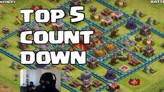 Clash of clans - Top 5 Raids ( Burglar Alert)