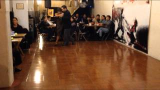 Gachi Fernández y Leonardo D'Aquila, tango en México 2015