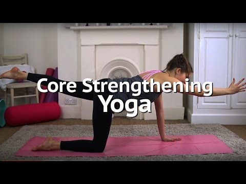 10 Minute Core Strengthening Yoga Flow | Annie Clarke | Mind Body Bowl