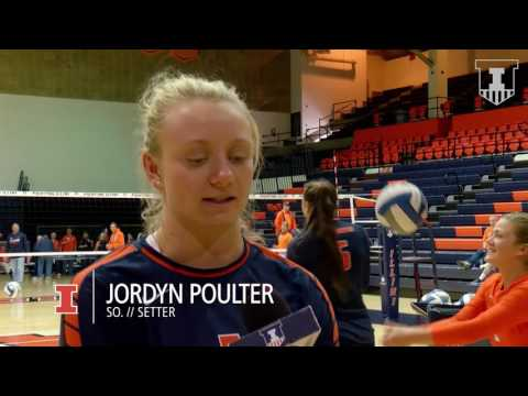 Illinois Volleyball Spring 2017 Recap vs. SIU & DePaul | 4/22/17