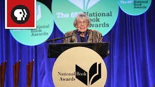 Ursula K. Le Guin's Passionate Acceptance Speech | Worlds of Ursula K. Le Guin | PBS