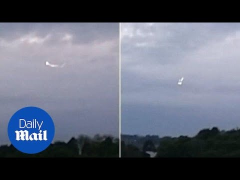 Shocking moment 'UFO' spotted hovering near High Wycombe RAF base – Daily Mail