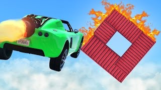 CAN YOU FINISH THIS STUNT? (GTA 5 Funny Moments) thumbnail