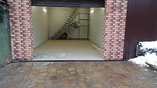 Двухэтажный гараж в Зеленограде, мкр  Фирсановка. Арт Строй Дизайн.