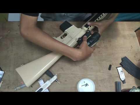 M16 BE custom To DMR timelapse built
