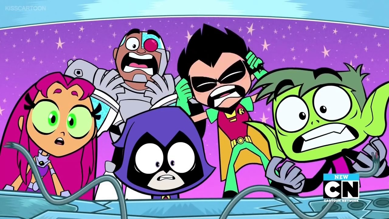 Teen Titans Go- Movie Night Clip - Youtube