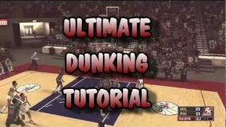 NBA 2K12 Ultimate Dunking Tutorial: 360