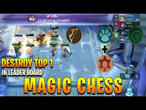 Magic Chess Marksman, Guardian, Elf & Eruditio Build Destroy Top 1 in Leaderboard