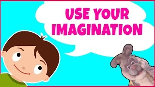 Nursery Rhymes For Children & Kids Songs | Use Your Imagination With Buddy Rabbit