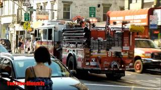 F.D.N.Y.NEW YORK FIRE DEPARTMENT VIDEO COMPILATION (PART I)