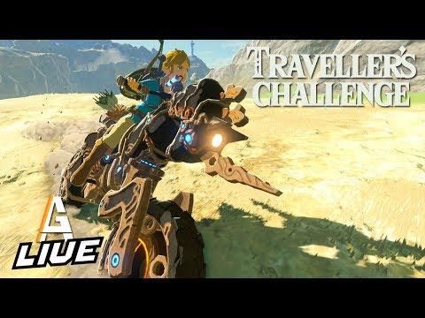 TRAVELER'S CHALLENGE SPEED RUN: Breath Of The Wild LIVE
