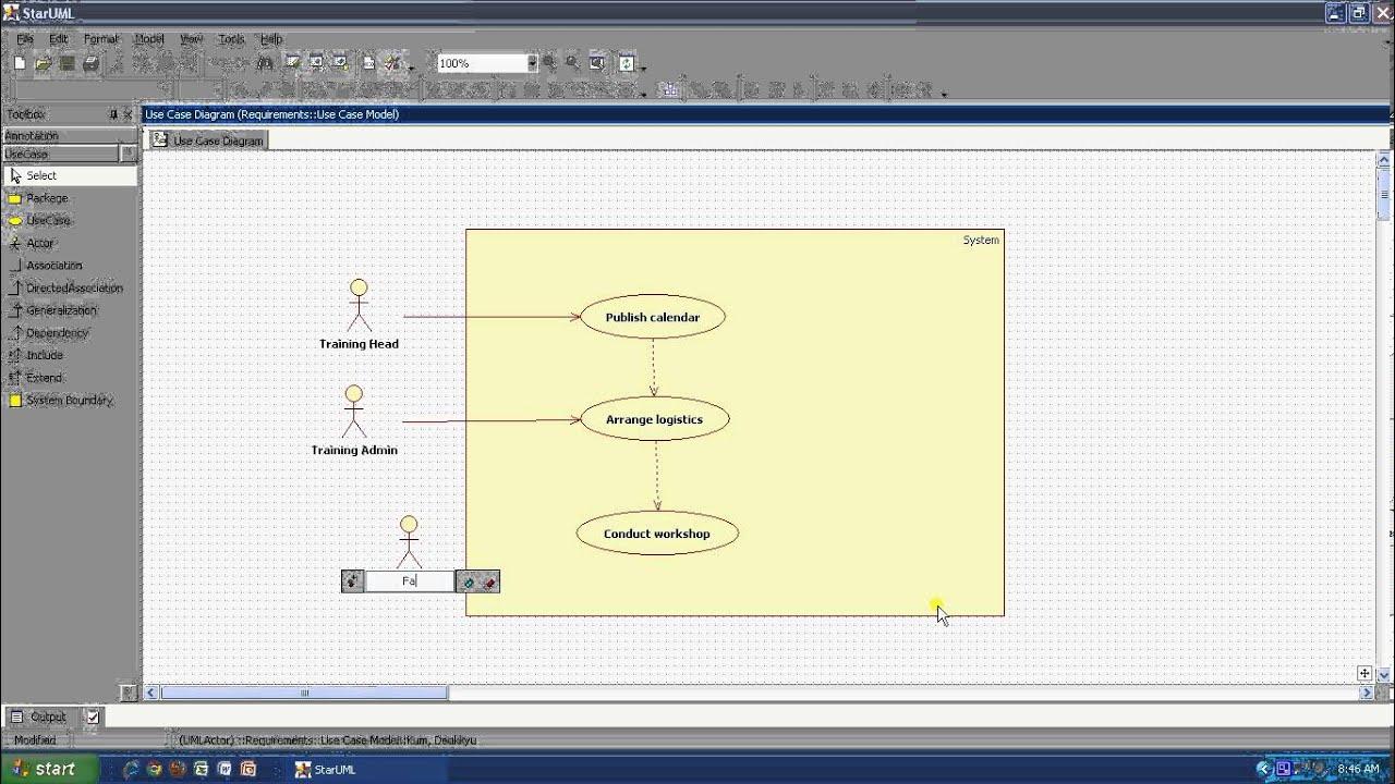 demo of open source uml tool star uml - Uml Open Source Tools