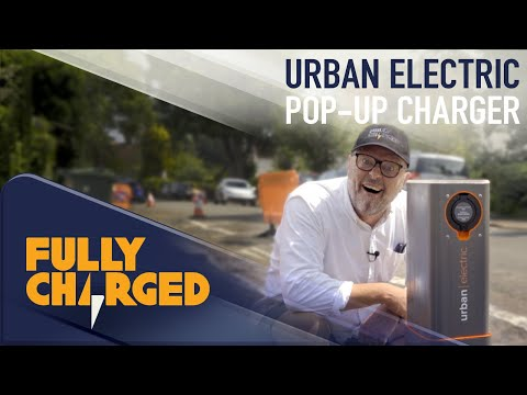 Electric Vehicle Charging Technology: Urban Electric - Pop-Up Charger | Fully Charged