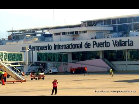 Landing in Puerto Vallarta's International Airport (PVR)